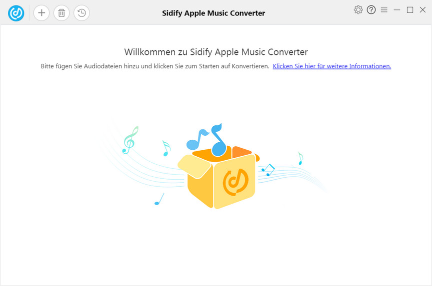 Hauptinterface von Apple Music Converter Pro für Windows