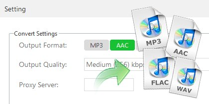 Record Apple Music as MP3 or AAC