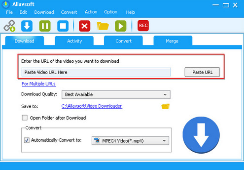 Allavsoft Spotify to MP3 Converter and Downloader