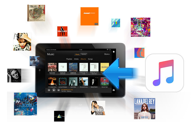 Apple Musik auf dem Kindle Fire streamen