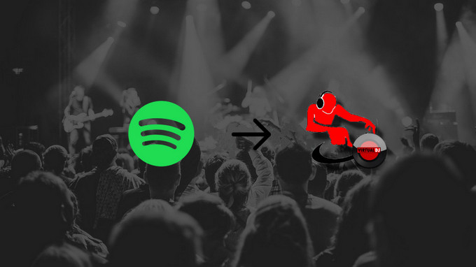 spotify music zu virtual dj