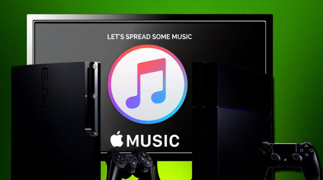Stream Apple Music on PS4