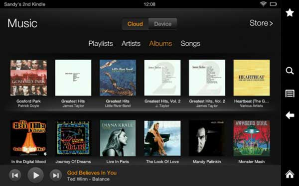 Streamen Sie Apple Music auf Kindle Fire