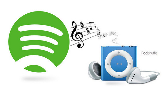 Spotify Musik auf iPod Shuffle synchronisieren