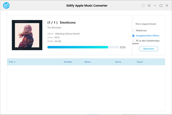 Apple Music in MP3 konvertieren