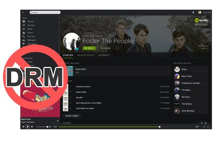 Remove DRM from Spotify Music